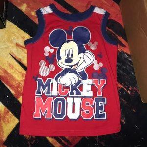 Disney Mickey Mouse tank top 5T 💕